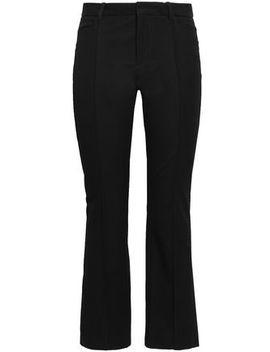 Zed Woven Bootcut Pants by Joseph