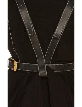 Strap Detailed Apron Maxi Dress by Proenza Schouler