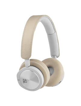 Bang & Olufsen Beoplay H8i Wireless Bluetooth Active Noise Cancelling On Ear Headphones With Transparency Mode, Natural by Bang & Olufsen