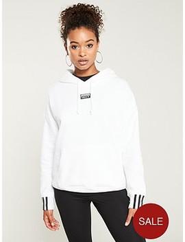 R.Y.V. Hoodie  White by Adidas Originals