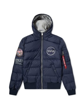 Alpha Industries Apollo 11 Hooded Puffer Jacket by Alpha Industries