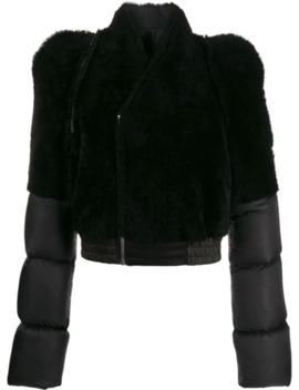 Puffer Shearling Jacket by Rick Owens
