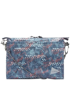 And Wander Printed Sacoche Bag by And Wander
