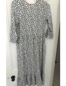 'The' Zara Black & White Polka Dot Dress 2019 Size S. Sold Out. Great Condition by Ebay Seller
