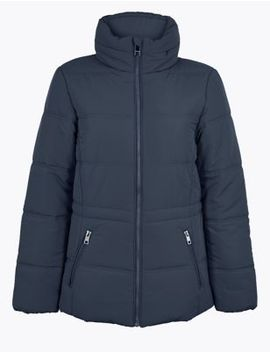 Quilted Padded Jacket by Marks & Spencer