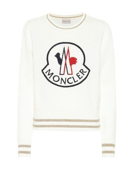 Pullover In Lana E Cashmere by Moncler