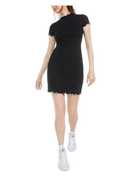 Lettuce Edge Bodycon Dress, Created For Macy's by General