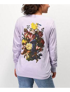 Ripndip Heavenly Bodies Violet Long Sleeve T Shirt by Ripndip