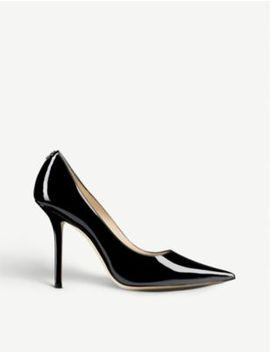 Love 100 Patent Leather Black by Jimmy Choo