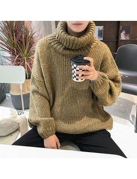 Mr. Wu   Turtleneck Sweater by Mr. Wu