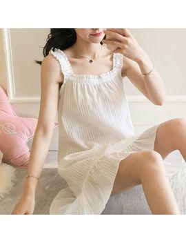Mork   Strappy Pajama Dress by Mork
