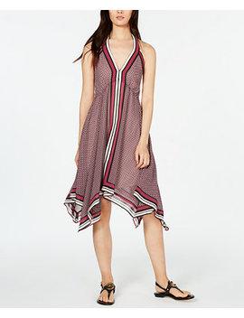 Border Print Halter Dress, In Regular & Petite Sizes by General