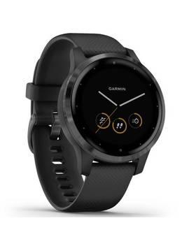 Garmin Vivoactive 4 S Gps Smart Watch   Gunmetal /Black Band202/8695 by Argos