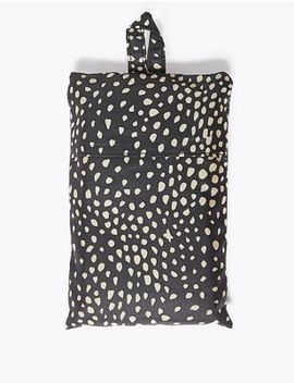 Spot Print Packable Shopper by Marks & Spencer