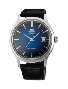 Orient Bambino Version 4 (V4) Fac08004 D0 Ac08004 D 42 Mm Blue Dial by Orient