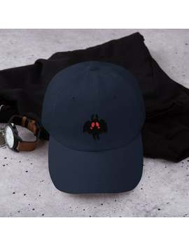 Mothman Embroidered Hat by Etsy