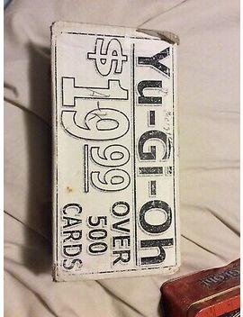 Yugioh Bulk Bundles X500 Cards by Ebay Seller