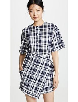 Chloe Scarf Dress by Maison Kitsune