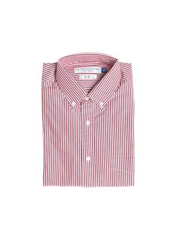 Everyday Shirts Slim Fit   Red University Stripe by Peter Manning