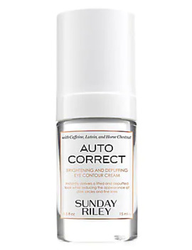 Auto Correct Brightening And Depuffing Eye Contour Cream by Sunday Riley