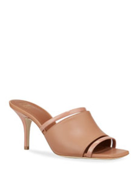Laney Banded Mule Sandals by Malone Souliers