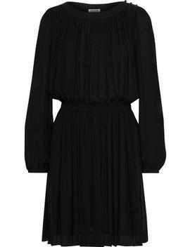 Gathered Georgette Mini Dress by Jason Wu