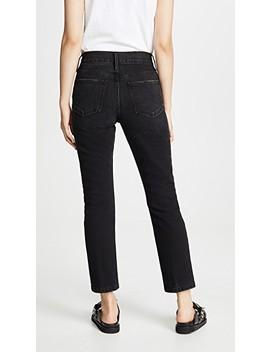 Heritage Sylvie Slim Straight Jeans by Frame