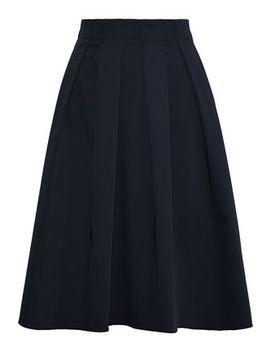 Pleated Woven Skirt by Elie Tahari