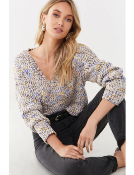 Marled Chenille Sweater by Forever 21