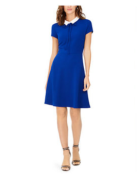 Collared Fit & Flare Dress by General