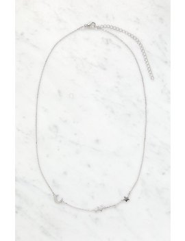 La Hearts Luna Necklace by Pacsun