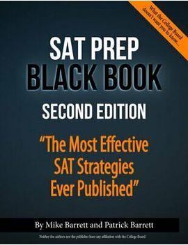 Sat Prep Black Book: The Most Effective Sat Strategies Ever Published (Digital) by Ebay Seller