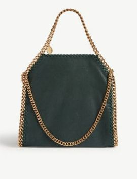 Falabella Babybella Faux Suede Shoulder Bag by Stella Mccartney