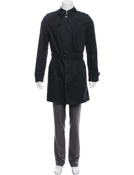 Deconstructed House Check Lined Trench Coat by Burberry