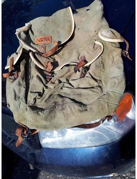 Vintage World Famous Backpack, Rucksack,Day Pack by Etsy