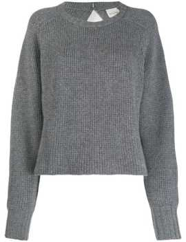 Komaki Boat Neck Jumper by Le Kasha