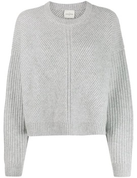 Ribbed Cashmere Jumper by Le Kasha