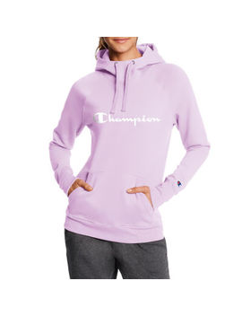 Champion Women's Fleece Long Sleeve Hoodie by Champion