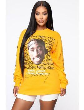 Everybody Else Basic Long Sleeve Top   Mustard by Fashion Nova