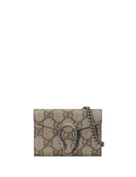 Dionysus Leather Coin Case by Gucci