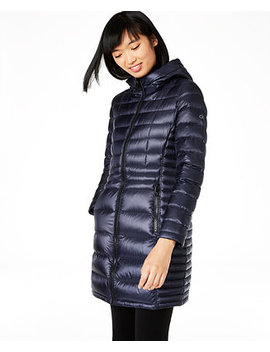 Hooded Packable Puffer Coat, Created For Macy's by General