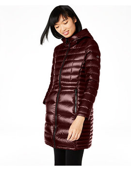 Petite Hooded Packable Puffer Coat, Created For Macy's by General