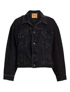 Denim Swing Jacket by Balenciaga