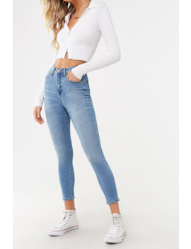 Super High Rise Curvy Jeans by Forever 21