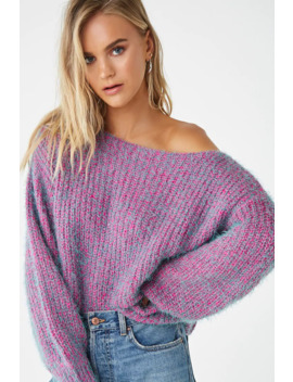 Ribbed Fuzzy Sweater by Forever 21