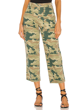 Remy Camo Pant In Moss by Free People