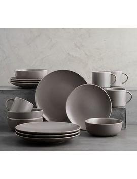 Mason 16 Piece Dinnerware Set by Pottery Barn