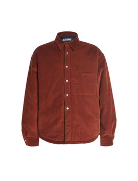 Boulanger Cotton Corduroy Shirt by Jacquemus