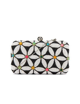 Sabrina Box Clutch by From St Xavier