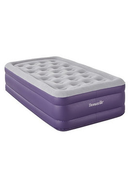 Raised Coil In Coil Designed Comfort Air Bed Mattress, Twin by General